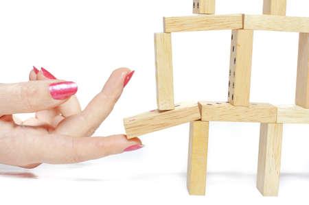 Segítő kéz Stock fotó