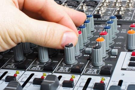 Audio mixer control photo