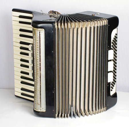 Black accordion photo