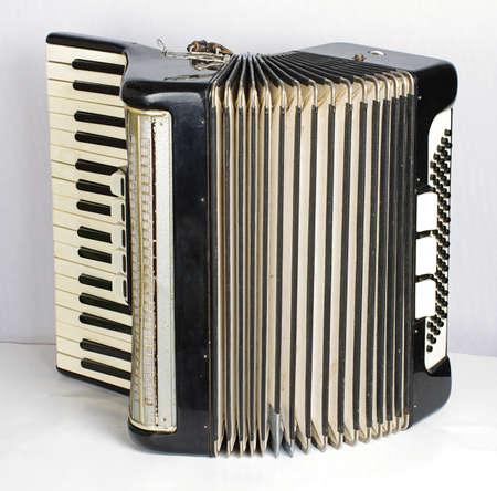 bandoneon: Black accordion