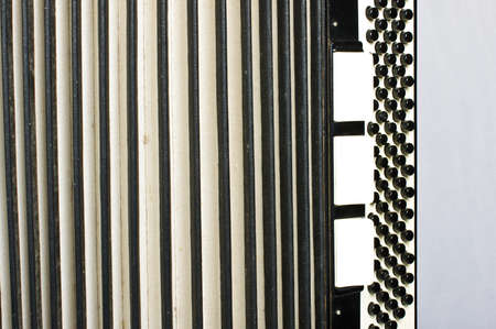 bandoneon: Accordion abstract horizontal Stock Photo