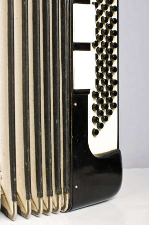 bandoneon: Accordion buttons and bellows
