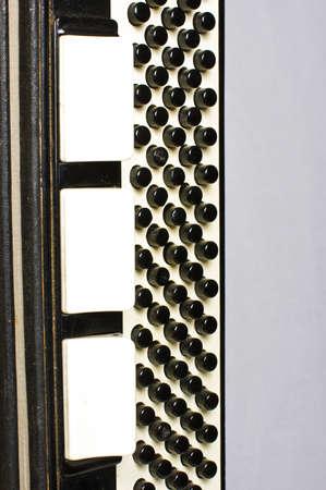 bandoneon: Accordion detail close up abstract art