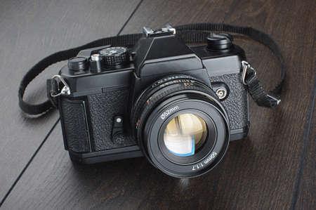 reflex: Macchina fotografica della pellicola single lens reflex