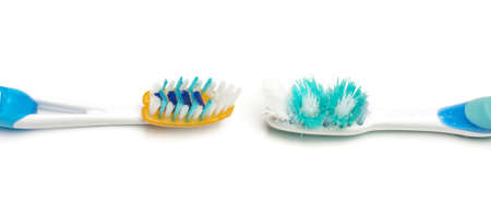Replacing old toothbrush photo