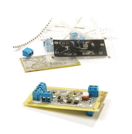 prototyping: Electronic device prototyping Stock Photo