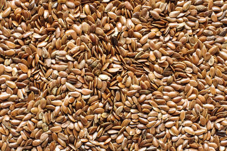 flax seed: Flax seed and flax bran background