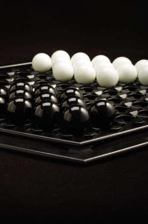 brettspiel: Anfang Abalone Brettspiel