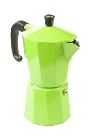 Green espresso coffee making tool for barista photo