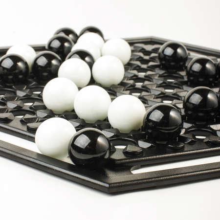 brettspiel: Abalone Brettspiel hautnah