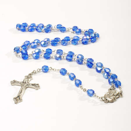 Rosary isolated Stock Photo