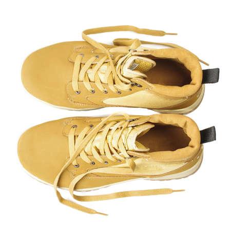 estilo urbano: Zapatos marrones de estilo urbano vista superior