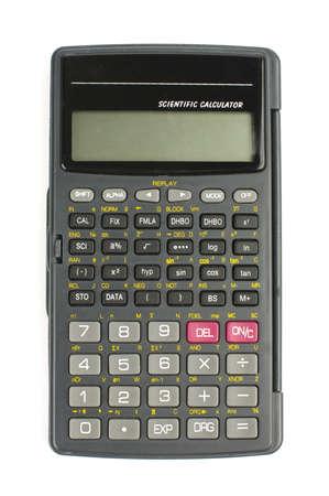 calculadora: Calculadora cient�fica aislado con trazado de recorte