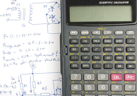 Electronics design notes and science calculator