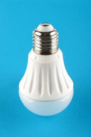 the light emitting: Light emitting diode bulb Stock Photo