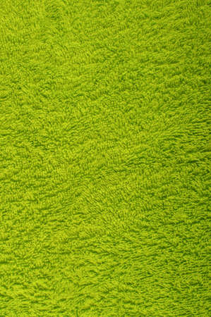 terry: Green terry towel surface pattern vertical Stock Photo