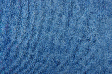 towelling: Blue terry towel surface pattern
