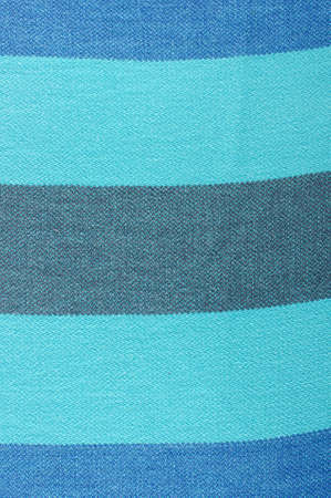 towelling: Vivid striped piece of cotton fabric close up