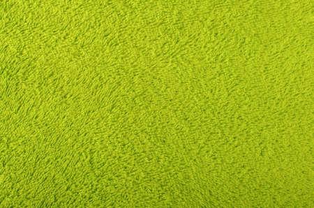 Zöld frottír törölköző felület mintázata Stock fotó