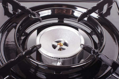 picknic: Abstract photography of gas stove close up
