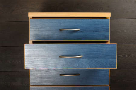 commode: Open commode drawer