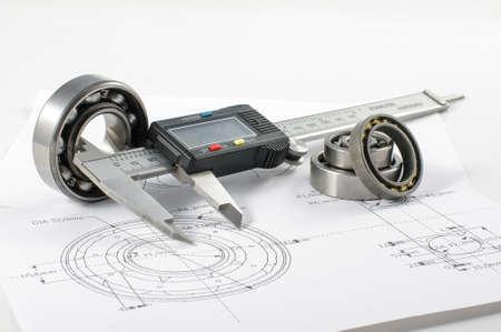SORTEO: Rodamiento y la pinza en el dibujo de ingenier�a mec�nica