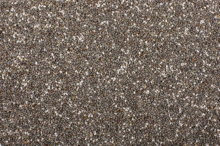 Abstract texture of chia seeds Stok Fotoğraf - 52888439