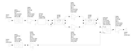 Real analog amplifier principal circuit schematic design