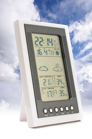 meteorological: Weather forecast concept Stock Photo