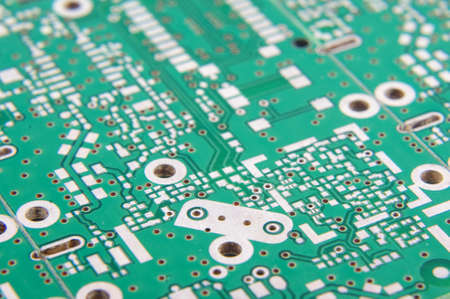 layer masks: Selective focus of PCB fragment
