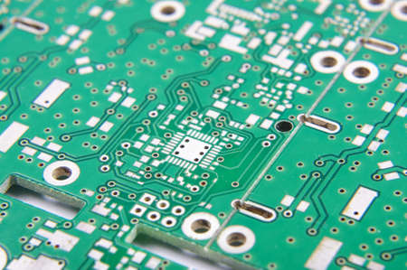 selective focus: Selective focus of PCB fragment