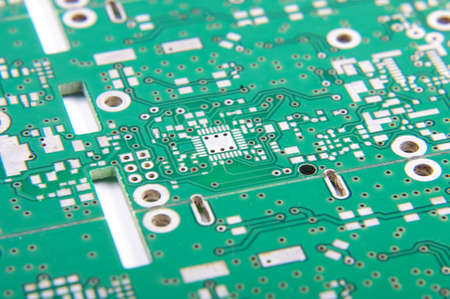 impedance: Selective focus of PCB fragment