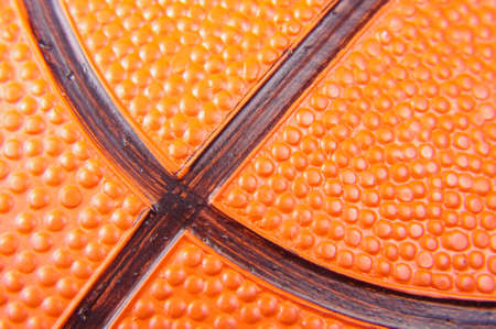 macro close up: Abstract macro close up of basketball ball texture pattern Stock Photo