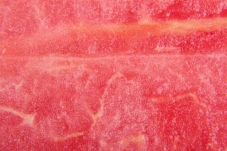 pulp: Abstract macro close up pattern of pink watermelon pulp