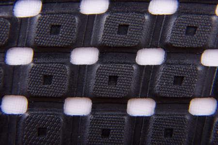 rubber sole: Rubber footwear sole macro close up Stock Photo