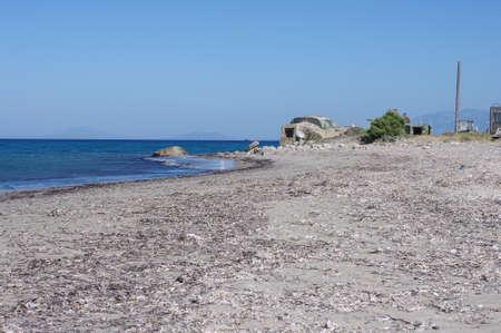 kos: Military bunker in Kos island Greece