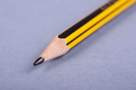 grafito: Lápiz de grafito cerca de macro