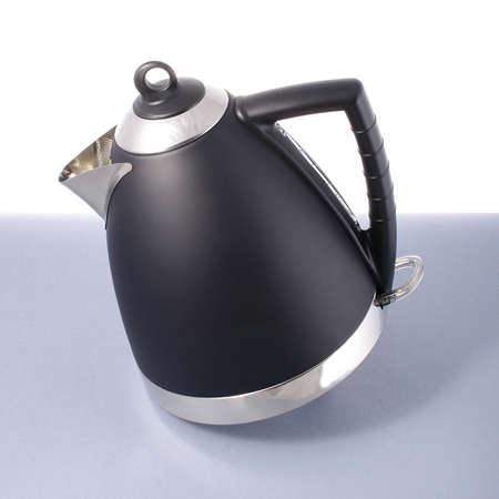 Modern electric kettle isolated