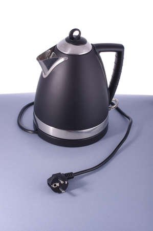 electric kettle: Modern electric kettle isolated