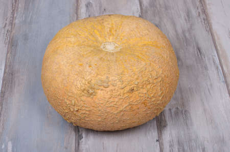 reclaimed: Pumpkin isolated on the reclaimed wood background