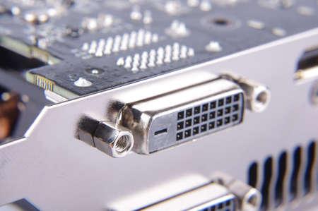 Connecteur DVI de la carte vidéo de l'ordinateur