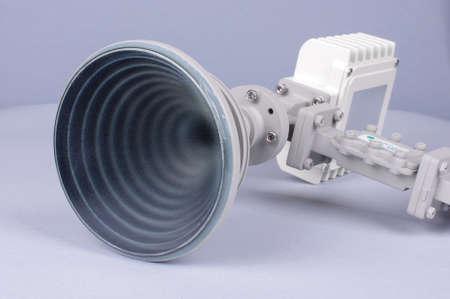transducer: Satellite Ku-band antenna isolated