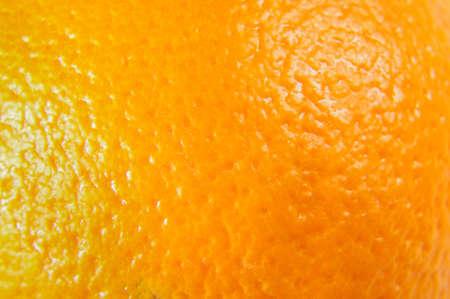 オレンジの皮のマクロをクローズ アップ