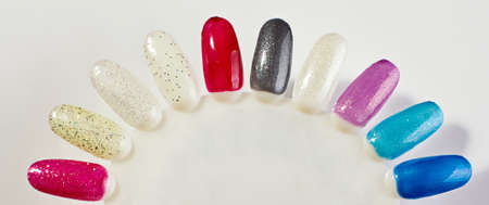 pallette: Manicure learning process accessory
