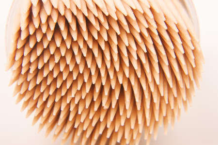 helthcare: Abstract macro close up of toothpicks texture
