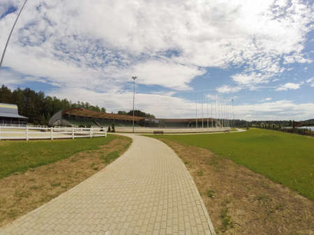 hippodrome: Way to hippodrome, Lithuania