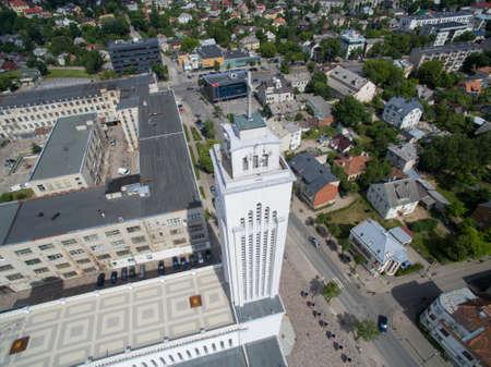kaunas: Christs resurrection church in Kaunas, Lithuania