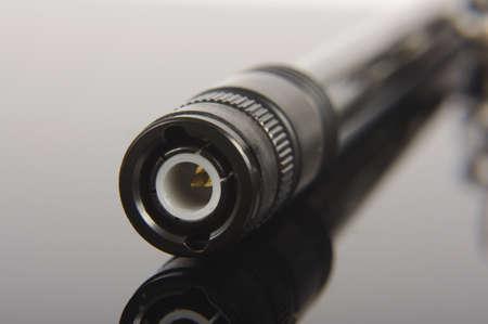 Connecteur bnc pour les cassettes radio Banque d'images - 86174030