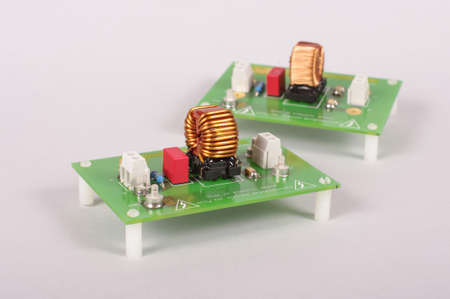 Power supply filter for reducing EMC problems