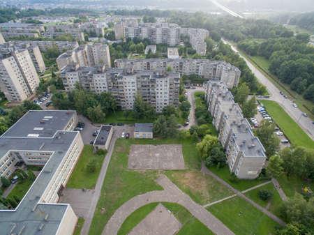 Mehrstöckige Wohnungen in Kaunas, Bezirk Eiguliai, Litauen